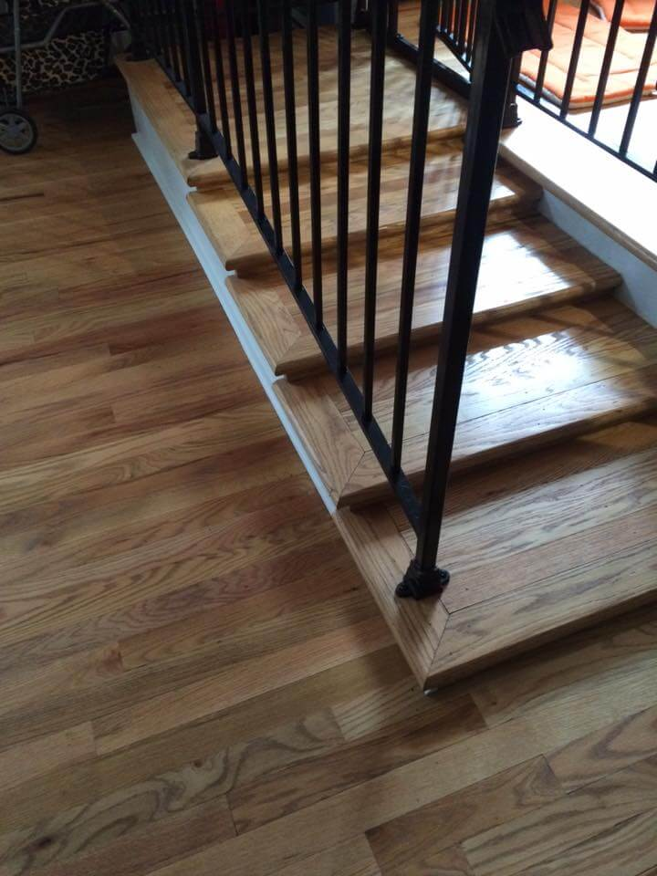 Modified Interior Steps Instead Of Ramp Clinton Twp Nj