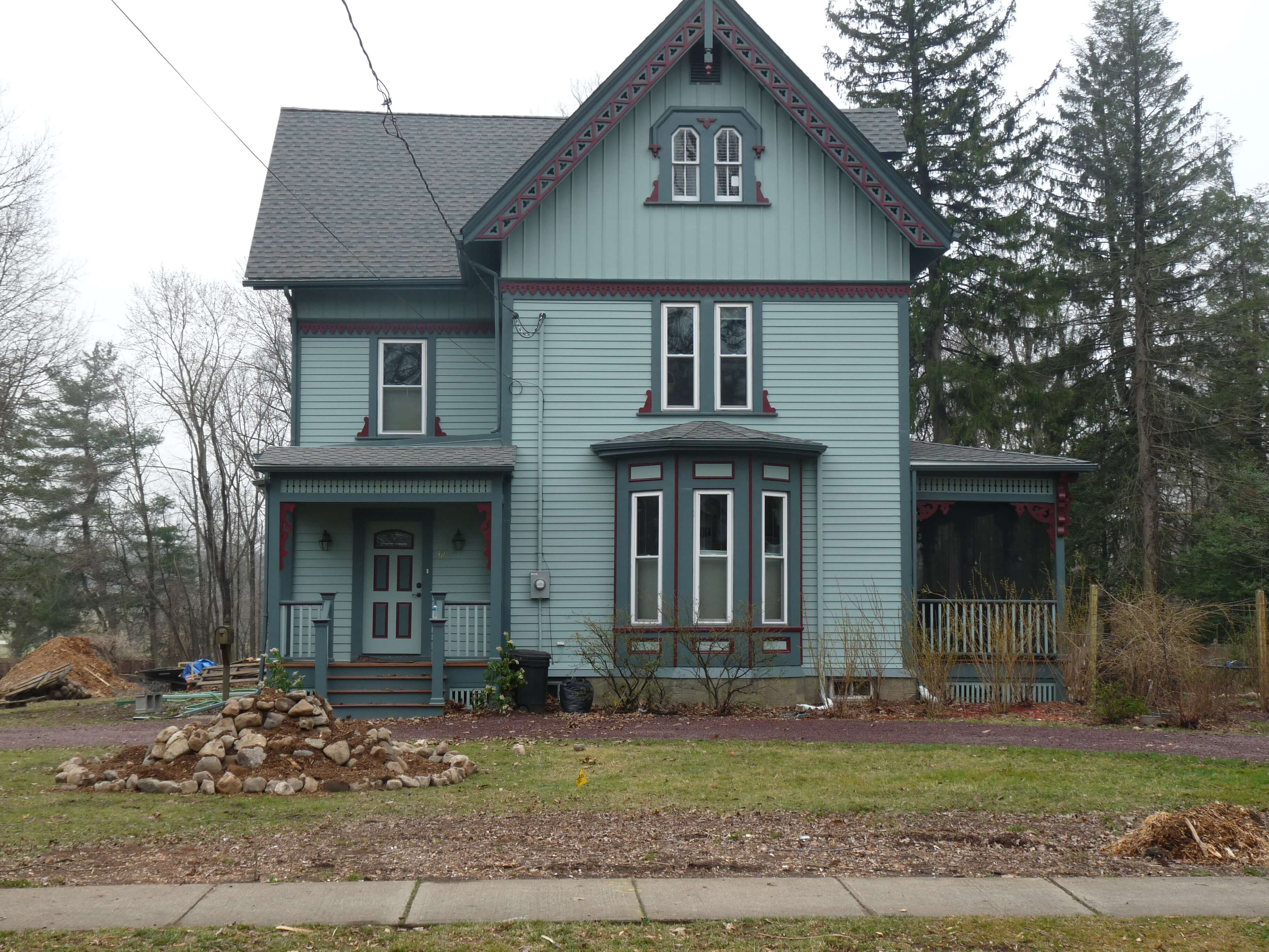 Siding Roof And Window Installation Victorian In West