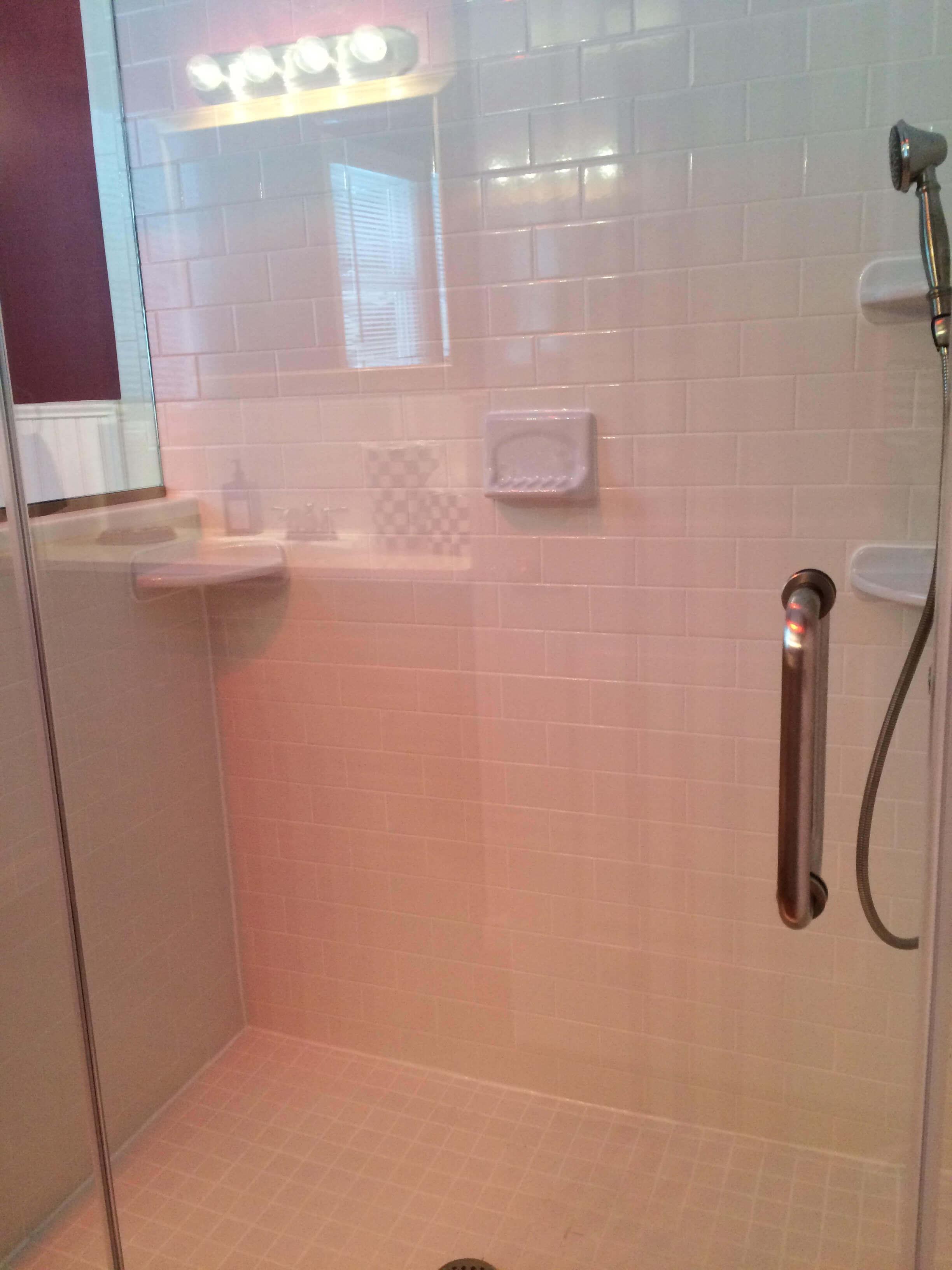 Custom Accessible Bathroom Remodel In Lebanon Twp NJ - Accessible bathroom remodel