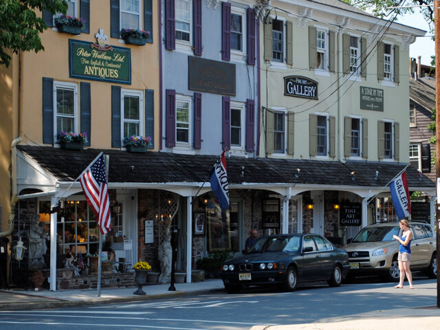 Lambertville Charming Small Towns New Jersey