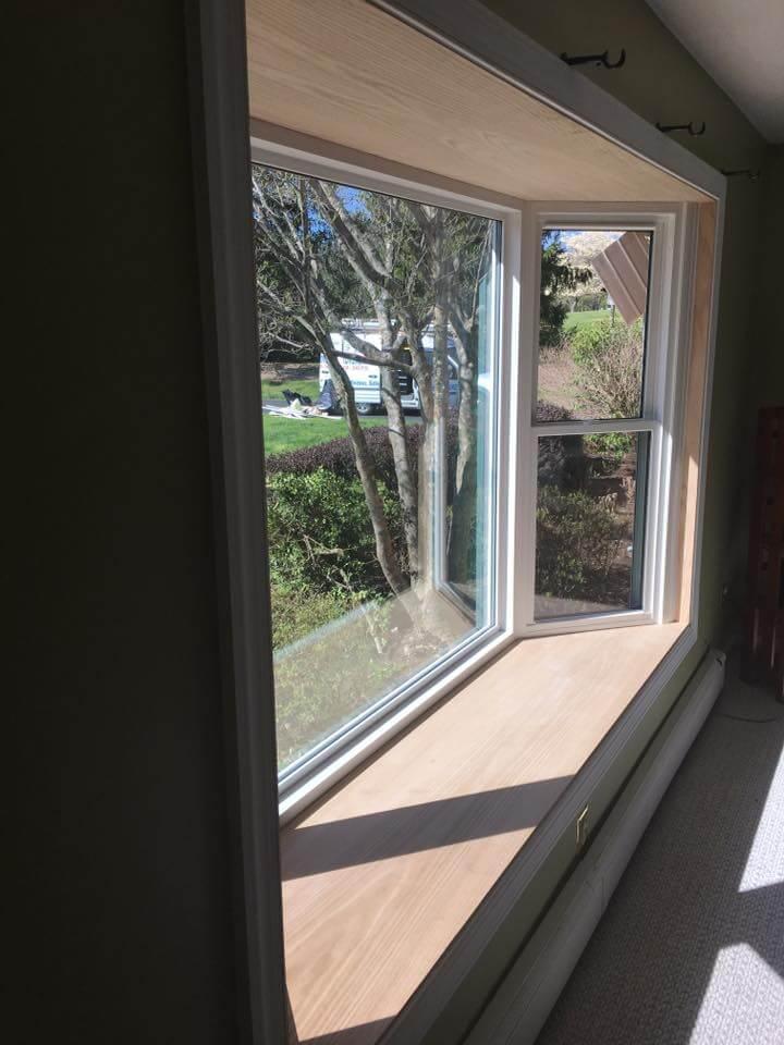 New Front Door Amp Replacement Bay Window In Readington Nj