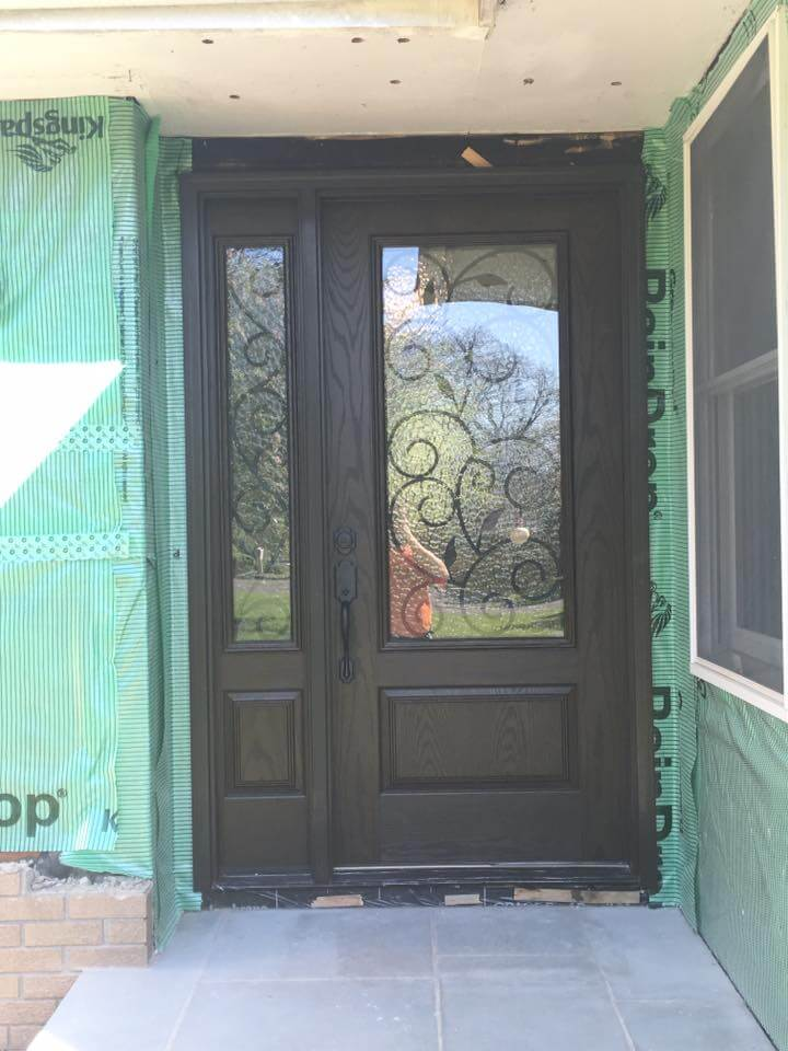 New Front Door Amp Replacement Bay Window In Readington Nj
